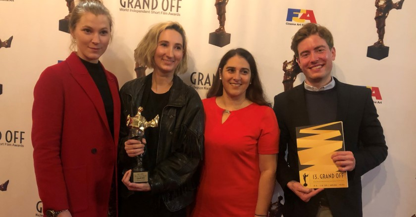 PREIS FÜR LENA FAKLER BEI DEN GRAND OFF – WORLD INDEPENDENT FILM AWARDS