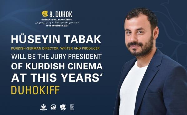 HÜSEYIN TABAK IST JURY-PRÄSIDENT DES 8. DUHOK INTERNATIONAL FILMFESTIVAL
